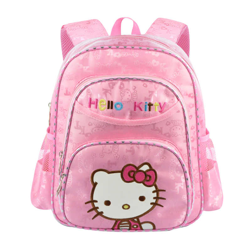 Student Cartoon School Bag Girl s Hello Kitty Backpack Breathable  Decompression Waterproof Oxford Child Knapsack Satchel Product d580e736d2
