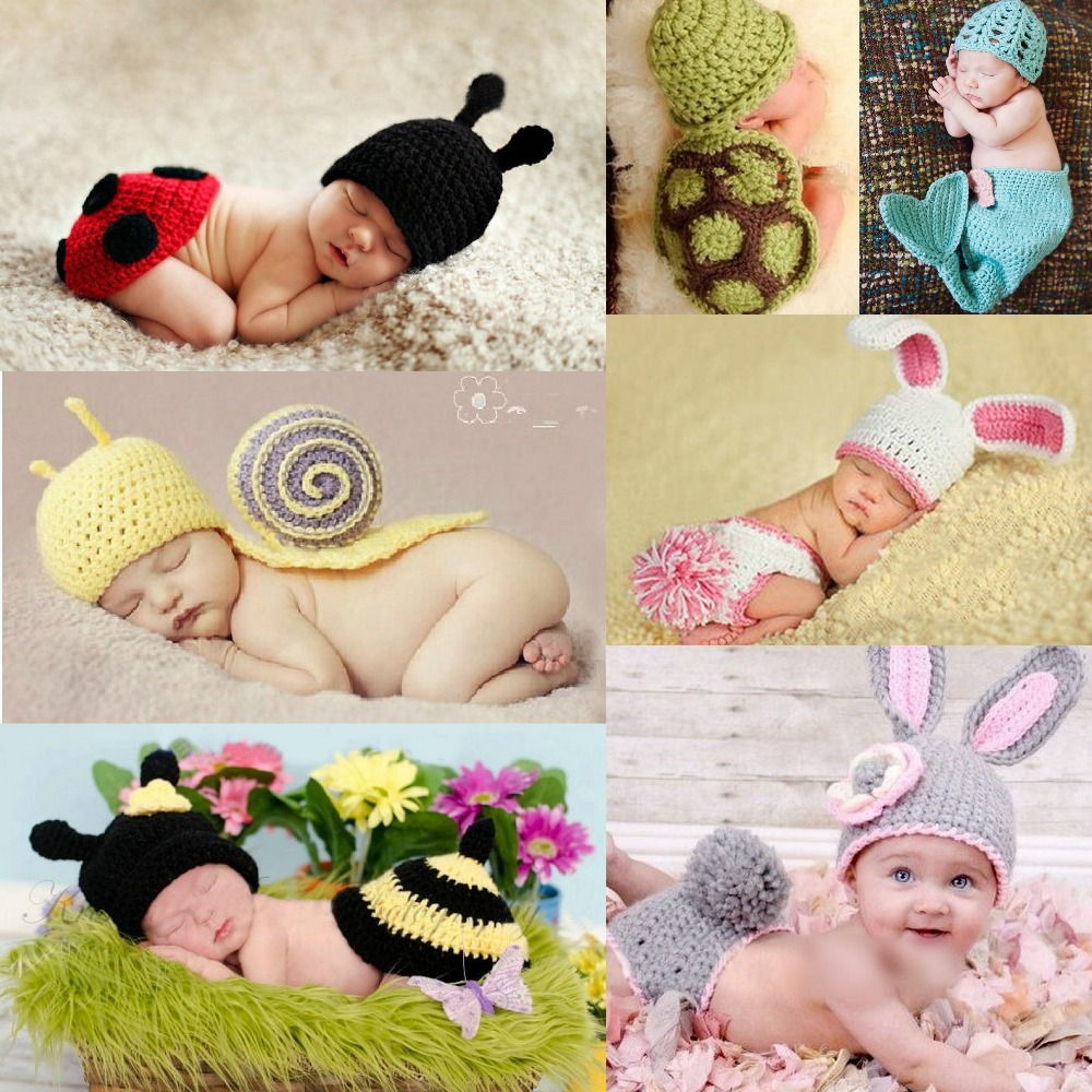 spring and autumn arrival baby photography clothing infant animal