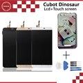 Dinossauro Cubot Original display LCD + Montagem da Tela de Toque repair 5.5 polegada 1280X720 Para Cubot Dinossauro Frete Grátis + ferramentas + caso
