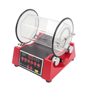 kt250 Jewelry Diamond Lapidary polisher jewelry Rotary Tumbler Variable Speed Time Tumbling 0-60 minutes,digital rotary tumbler