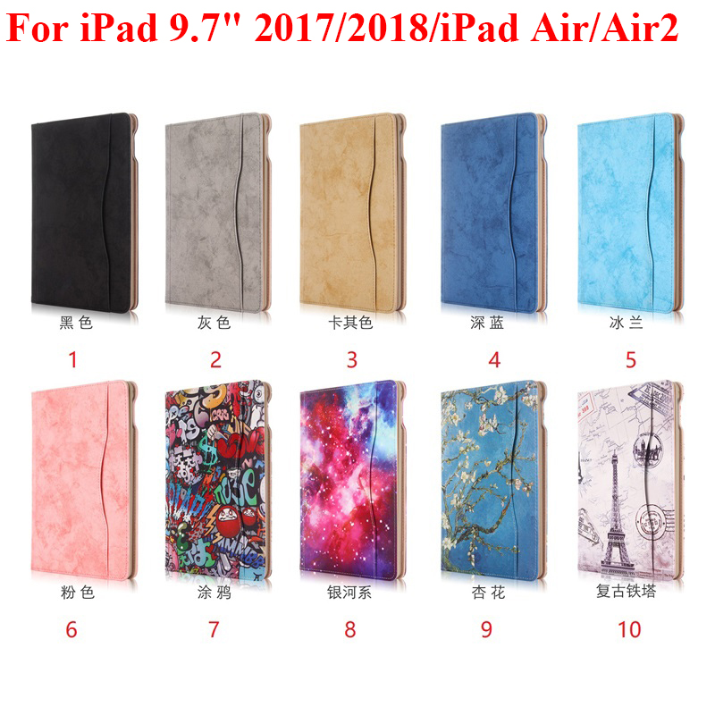 Tablets & E-books Case For Apple Ipad 9.7 2017/2018/ipad Air/air2 Tpu Business Cover Hangbag Pouch Protector Skin Hand Belt Holder Money Pocket