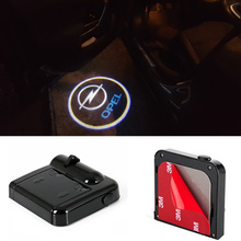 2PCS For Opel Astra H G J Corsa D C B Zafira Vectra C Mokka Meriva Omega Vivaro Insignia LED Car Laser Logo Projector Door Light j g graun trio sonata in g major graunwv c xv 89