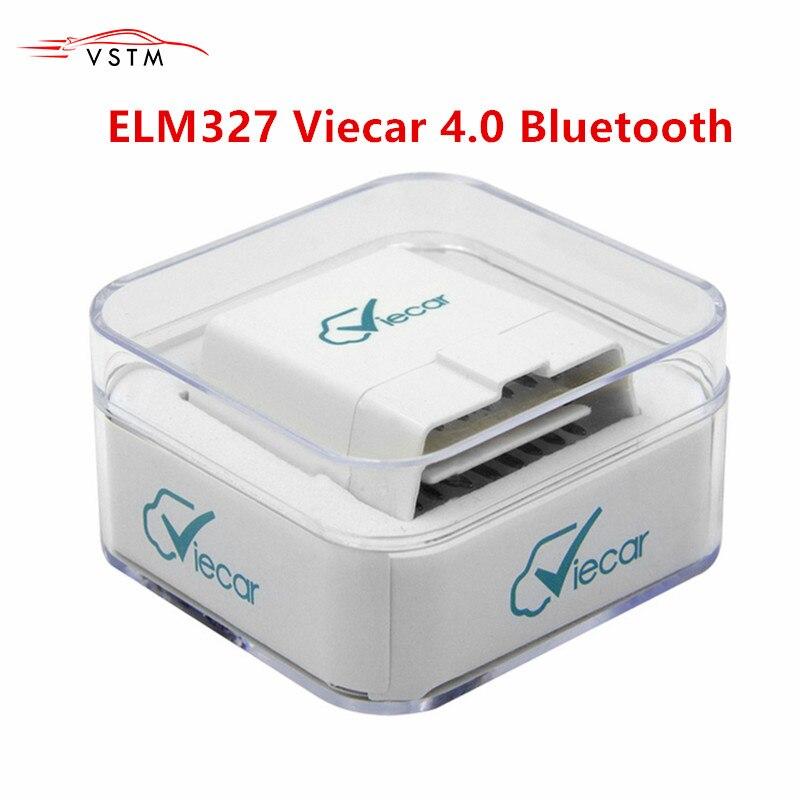 2019 Viecar ELM 327 Диагностика Авто V1.5 PIC18F25K80 OBD 2 Bluetooth 4,0 для Android/IOS/PC OBD2 Scannerl elm327 v1.5