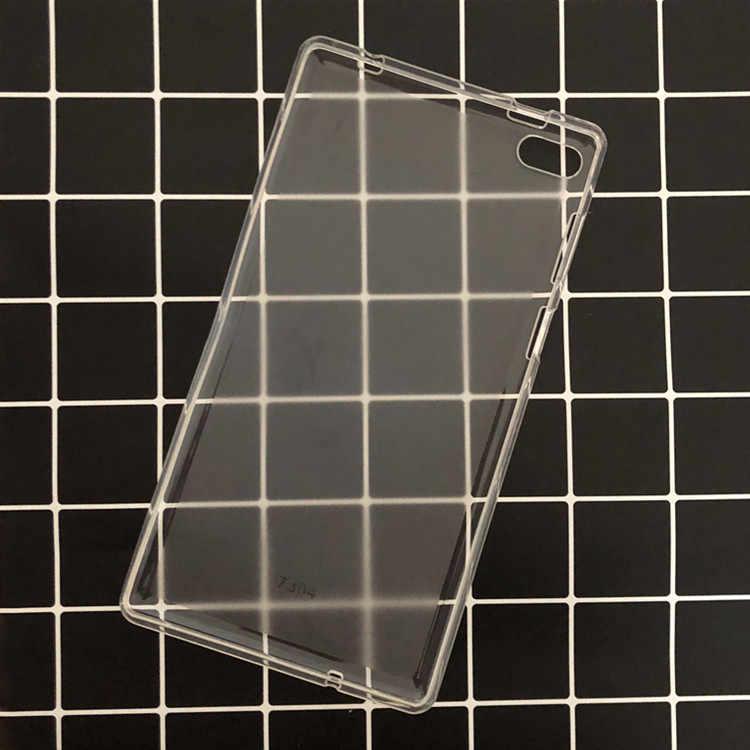 "Crystal Clear Case voor Lenovo Tab4 Tab 4 7 Essentiële TB-7304 TB-7304F TB-7304I TB-7304X 7 ""Tablet Case Case Cover + Stylus Pen"