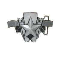 Mens Luxury Brand Designer Metal Belt Buckles New Year Gifts DIY Fashion Gun Model Lighter Buckles