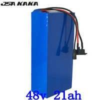1000W 2000W 48V 20AH batería de bicicleta eléctrica 48V 20AH ebike batería 48V batería de litio con 50A BMS + 54,6 V cargador libre de impuestos