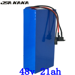 1000W 2000W 48V 20AH electric bike battery 48V 20AH ebike battery 48V Lithium battery pack with 50A BMS+54.6V charger duty free
