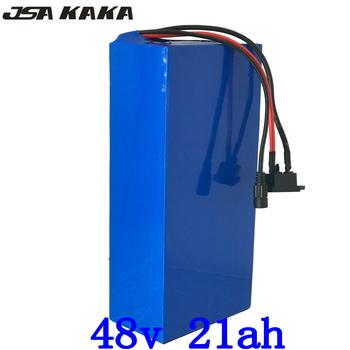 Akumulator litowy 48V 48V 1000W 2000W super power bateria do rowerów elektrycznych 48v 20ah akumulator litowo-jonowy bezpłatne cło tanie i dobre opinie Bateria litowa 48 v 21-30ah JSA KAKA 20 8ah 54 6V Charger 275*140*70mm 500W 750W 1000w 1500W 2000W use 3 7V 2600mah 18650 Cell