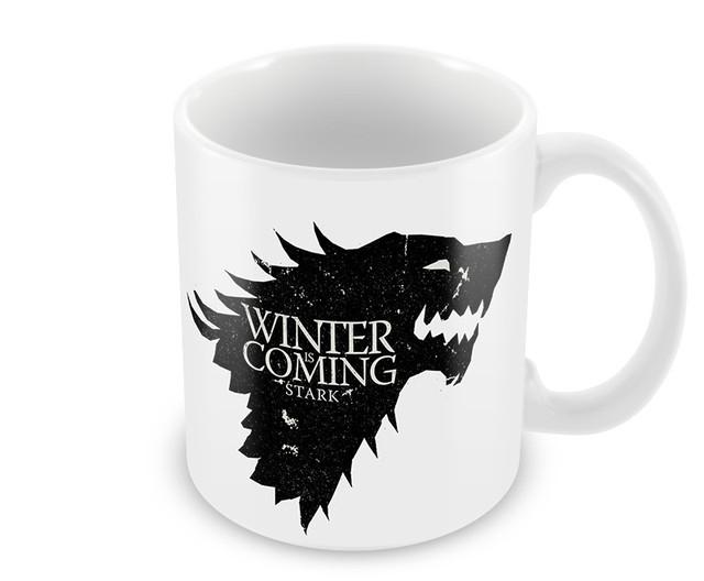 New Game of Thrones Ceramic White Mug