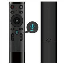 2019 Голос беспроводной 2,4 г голос дистанционное управление для умные телевизоры Android Box IP ТВ с USB приемник