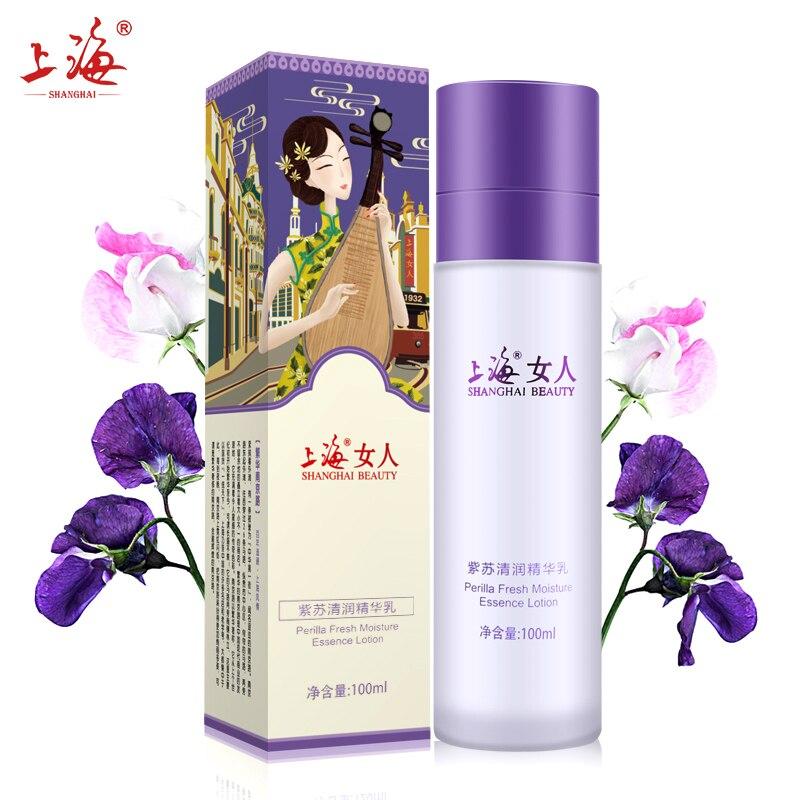 Hydration Skin Care: SHANGHAI BEAUTY Perilla Fresh Moisture Brighten The Skin