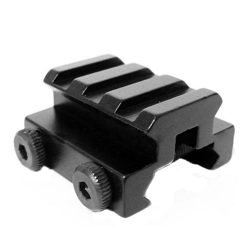 "1//2/""3-Slot Low Riser Rifle Mount//Scope Weaver Picatinny Mount Rail 20mm"