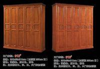 Пять дверей шкаф Античный белый Европейский весь шкаф Французский сельский мебель