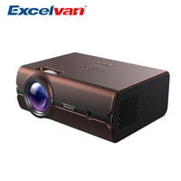 Excelvan BL45 2000Lumens Multimedia Home Theater Projector HDMI USB SD Card VGA for Home Cinema TV 1080P Video Playing Supported
