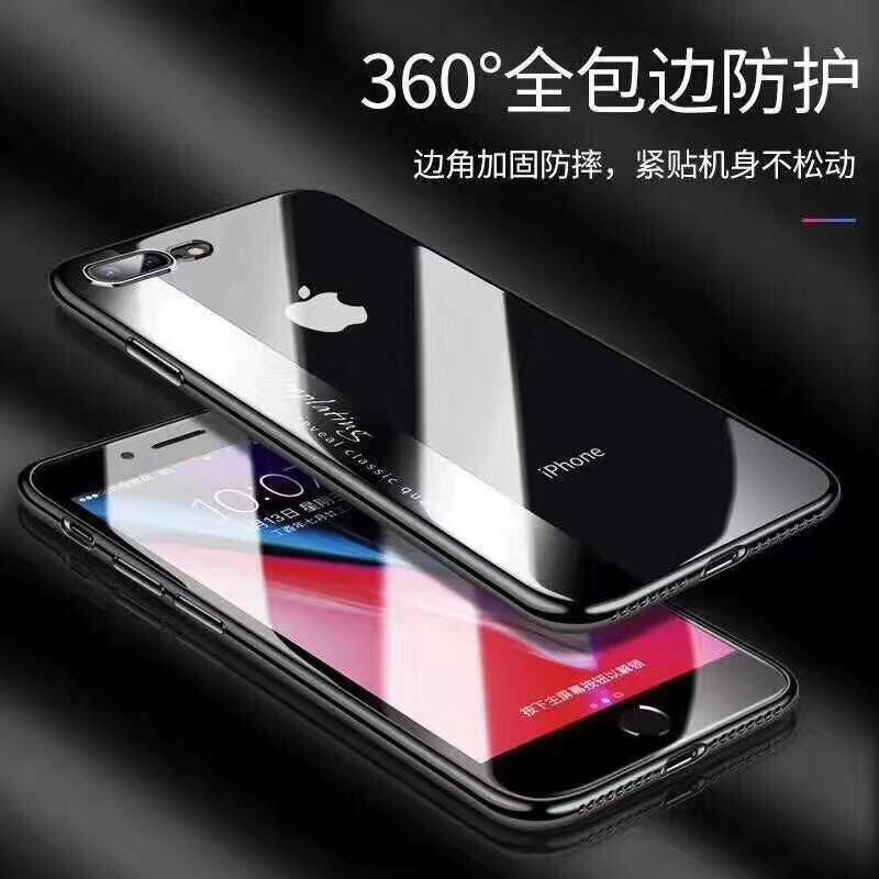 6 7 8G Luxury Transparent Silicone Plating Silm Phone Case For iPhone X S8 Electroplating TPU Soft Case For S9 Cover Shell