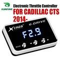 Автомобильный электронный контроллер дроссельной заслонки гоночный ускоритель мощный усилитель для Cadillac CTS 2014-2019 Тюнинг Запчасти аксессуа...