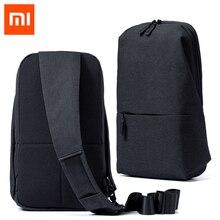 100% Xiao mi mi Rucksack 4L Polyester Bag Städtischen Freizeit Sport Brust Pack Taschen Männer Frauen Kleine Größe Schulter Unisex rucksack