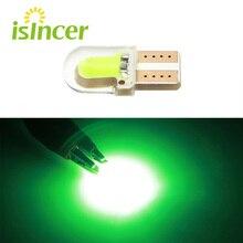 2 ADET T10 LED Lamba Ampuller W5W 194 168 Yeşil Gün Çalışan Işık Atmosfer Lamba Kama Gümrükleme Park Beyaz 12 v Lambalar