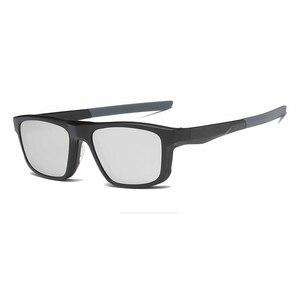 Image 4 - מחזה מסגרת גברים נשים עם 4 חתיכה קליפ על משקפי שמש מקוטבות מגנטי משקפיים זכר קוצר ראייה מחשב אופטי