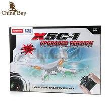 100% Original SYMA X5C RC Helicopter Drone Quadcopter 2.4GHz 4CH 6 Axis 2MP HD Camera RTF Remote Control Professional Dron Toys