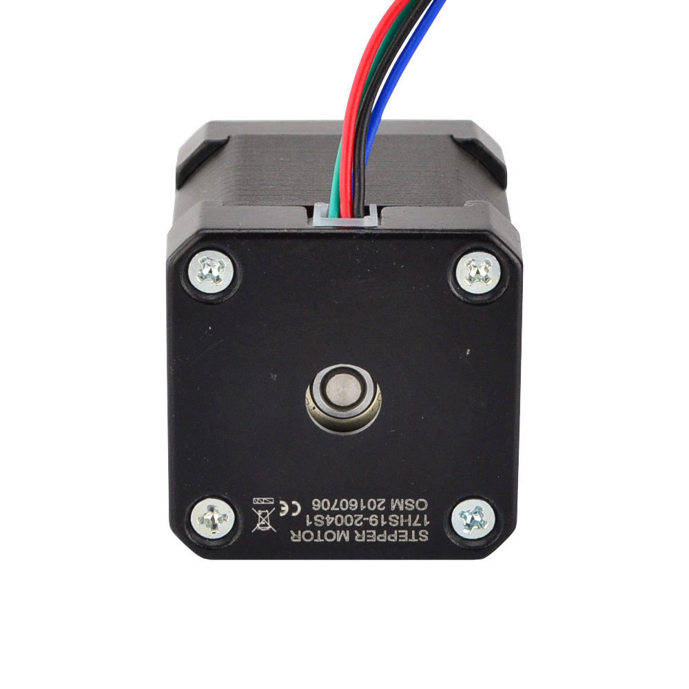 5 pièces Nema 17 moteur pas à pas 4 fils 48mm 59Ncm (84oz. in) 2A 1 m câble (17HS4801) Nema17 moteur pas à pas pour bricolage imprimante 3D CNC Robot XYZ - 4