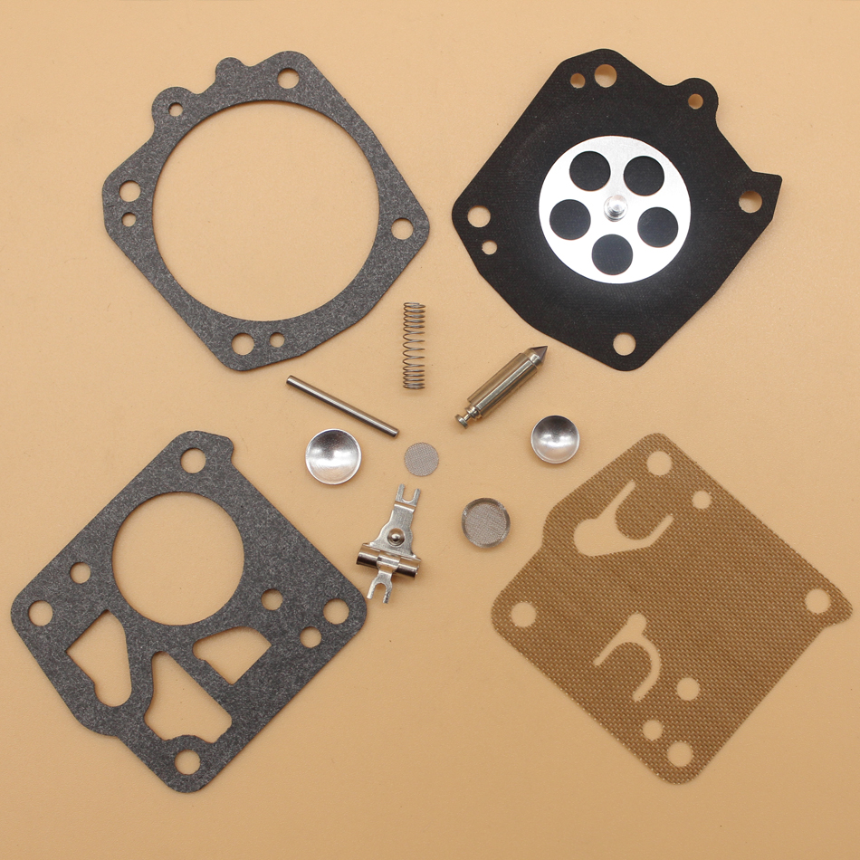 2Pcs/lot Carburetor Carb Repair Kit For Husqvarna 266 268 272 281 288 Chainsaw RK-23HS, RK-23-HS, RK23HS NEW