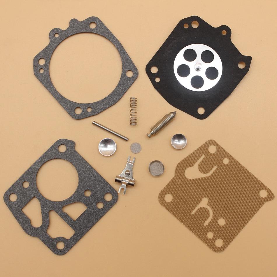 2Pcs/lot Carburetor Carb Repair Kit For Husqvarna 266 268 272 281 288 Chainsaw RK-23HS, RK-23-HS, RK23HS NEW