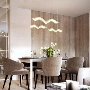 Image 5 - Asılı dekor DIY Modern Led kolye ışıkları yemek odası için mutfak odası Bar süspansiyon armatür suspendu kolye lamba