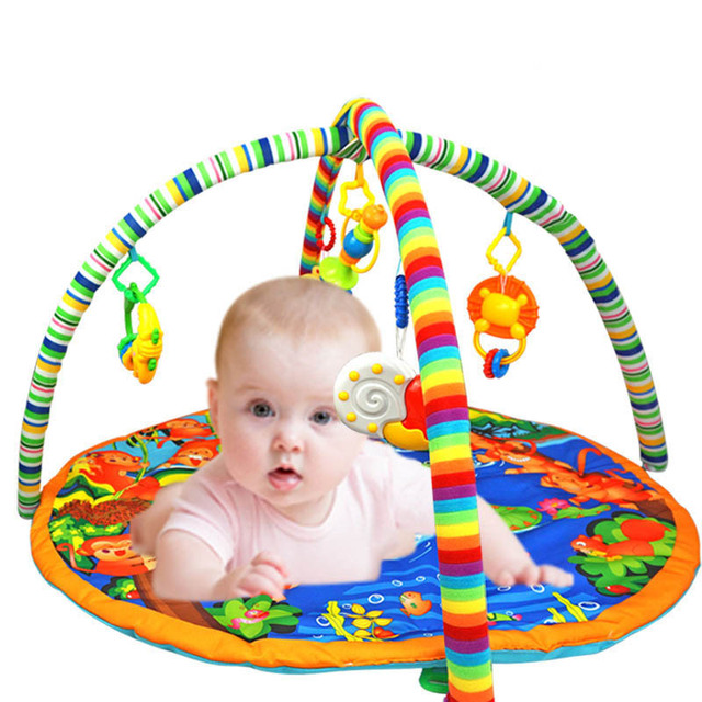 Baby Gyms Playmats Activity Play Mat Gym Fitness Frame Multi Bracket KidsToys Game Mats 90 x 90