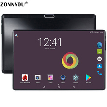 10.1 inch 2.5D Screen Templado 3G Phone Call Tablet PC 4GB/32GB Android 8.0 Octa Core Dual SIM Support GPS OTG WiFi Touch Tablet