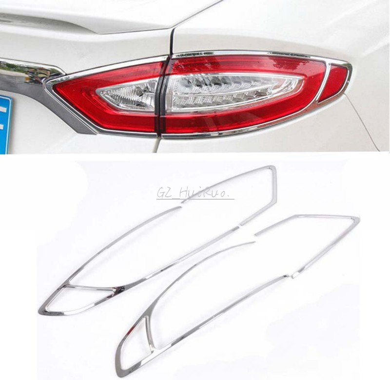 New!ABS Rear Tail Light Lamp Cover Trim for FORD FUSION Mondeo 2013 2014 2015 коврики в салон ford mondeo 2015