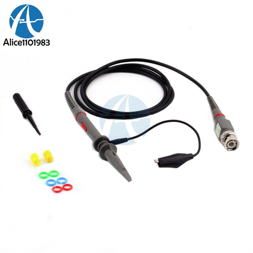 P6100 Oscilloscope Probe Kit DC-100MHz Scope Clip Test Probe 100MHz For Tektronix  X1/X10 sonda osciloscopioP6100 Oscilloscope Probe Kit DC-100MHz Scope Clip Test Probe 100MHz For Tektronix  X1/X10 sonda osciloscopio