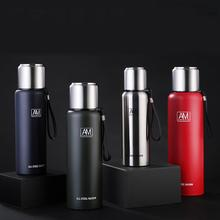 500/1000/1500ml Outdoor Thermos Portable Large Capacity Insulated Cup Military Style Vacuum Flask Stainless Steel Bottle