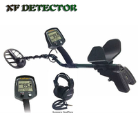 GF2 Professional Underground Metal Detector Handheld Treasure Hunter Gold Digger Finder With Headphone LCD Display