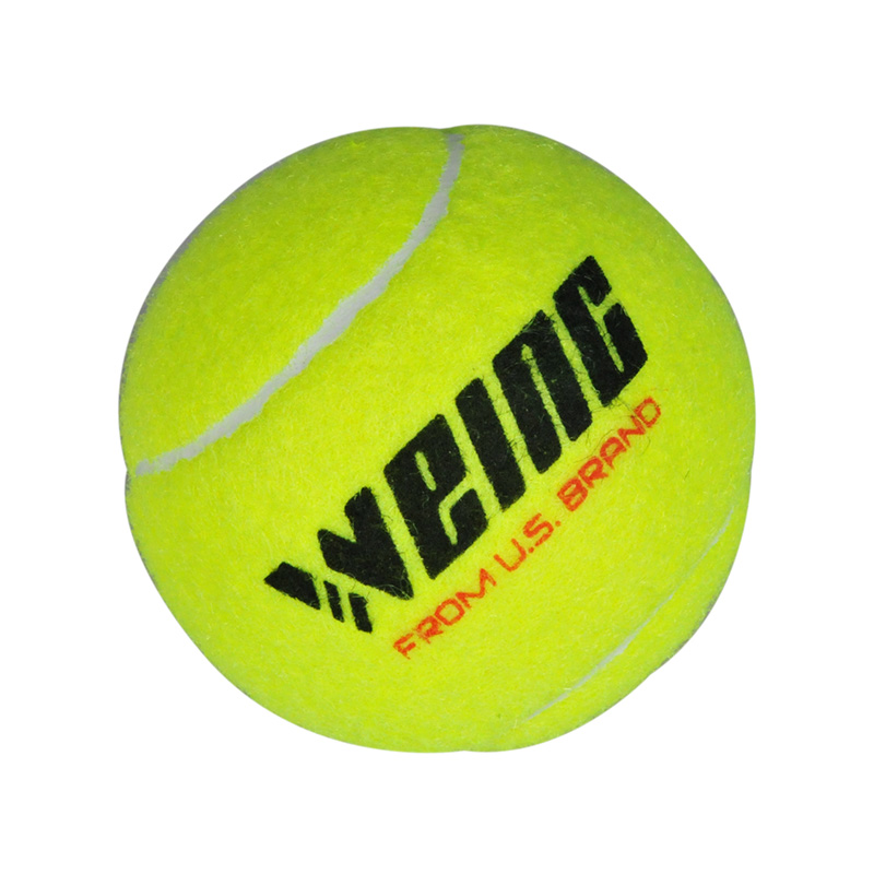 Quality Pressurized Wool Tennis Ball Tournament Tennis Ball Training Ball 3pcs Packed