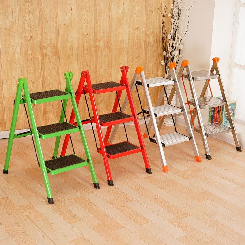 Anti Slip 3 Tread Safety Step Ladder Folding Step Stools