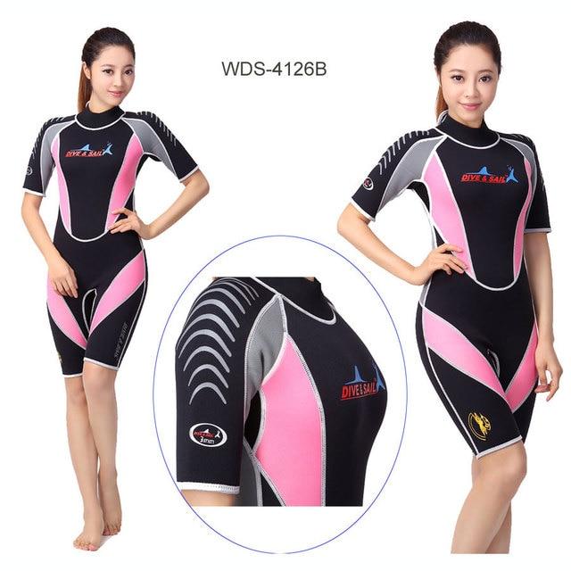8c761fc015 Dive   Sail 3mm Sport Shorty Scuba Diving Wetsuit Men s Blue or Women s  Pink NEW
