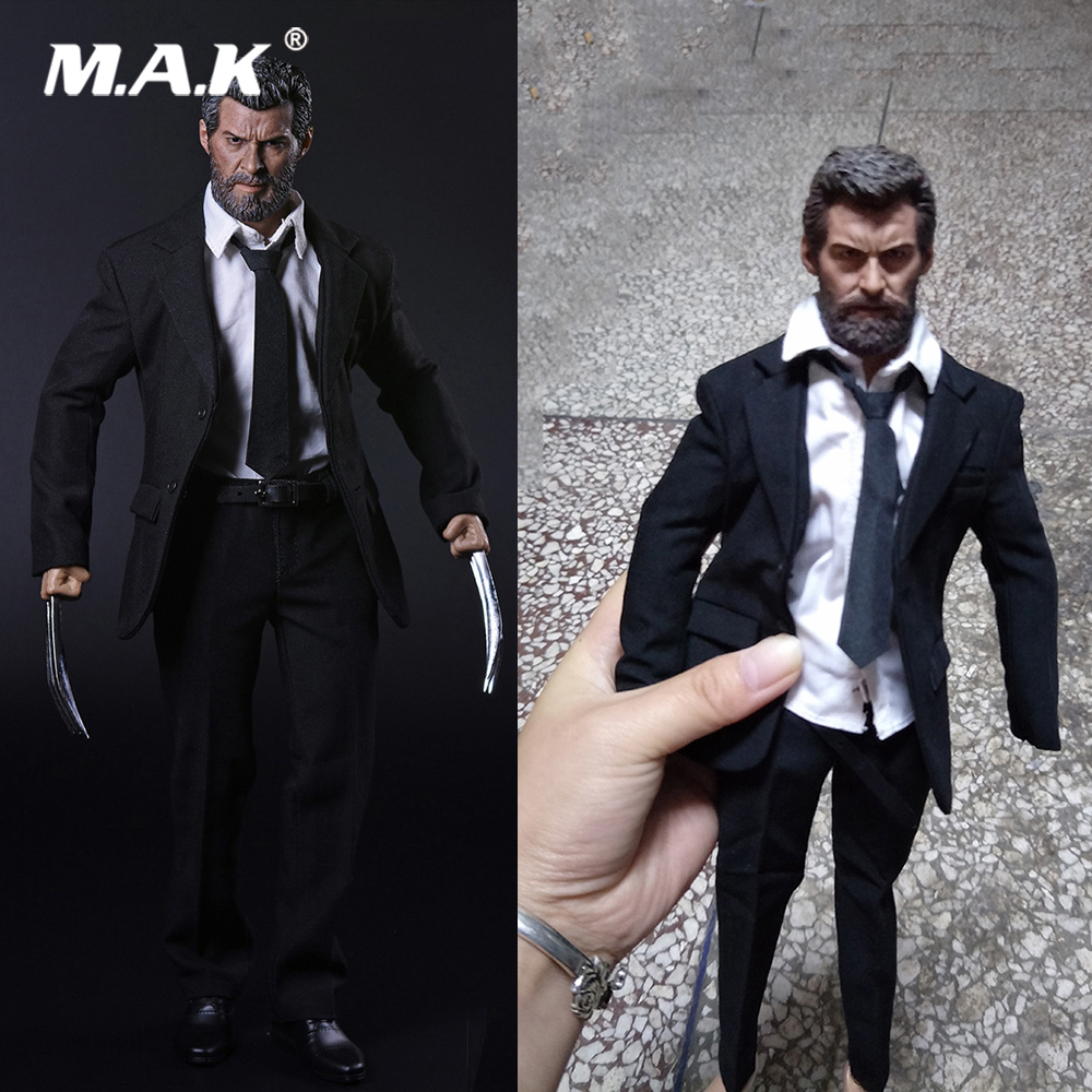 For Collection 1 6 Scale Full Set Set X men Wolverine Logan Action Figure Head Body