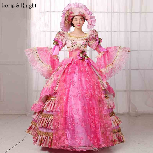 Sissi & Marie Antoinette Dress Inspired Royal Ball Gowns Adult ...