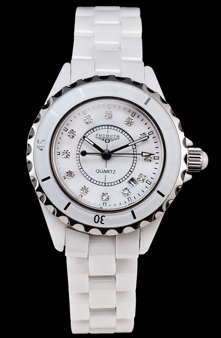 new arrivel Fashion women s wrist watch Phyboth PBJ12 ceramic watch Japanese quartz movement free shipping