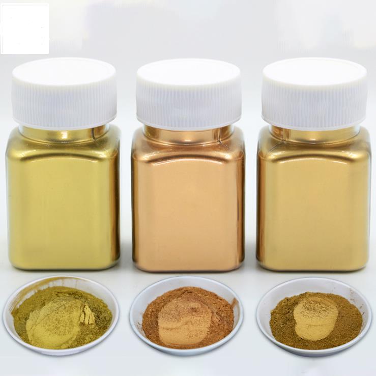 Extra Fine 1500 Um Metallic Powders Bronzing Pigment Of Metallic Color, Polymer Clay, Painting, Epoxy Resin, UV Resin, Art