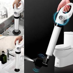 Pistola de chorro de drenaje de aire de alta presión herramientas de dragado de zumbido potente limpiador de émbolo de inodoro para fregadero de cocina de baño