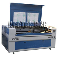 Wood&MDF&acrylic&metal&stone co2 laser cutter machine laser engraving and cutting machine 1610