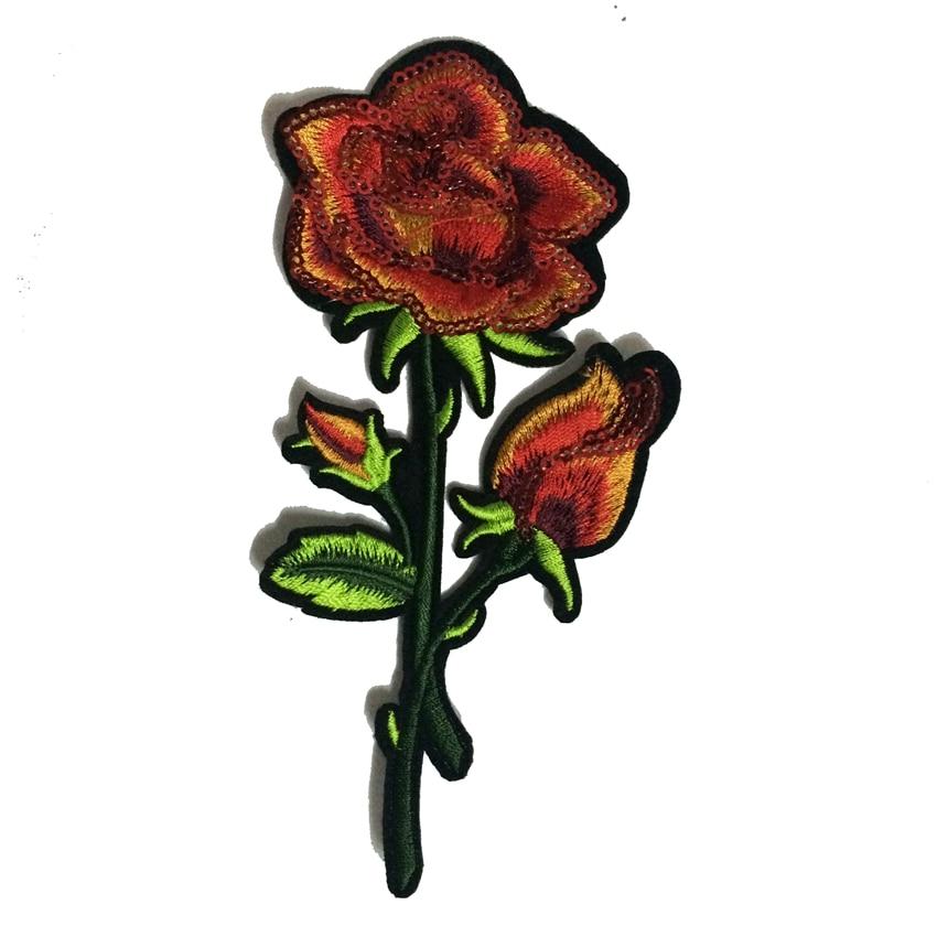 Gyönyörű rózsaszirom virágos galléros vasaló a javításra - Művészet, kézművesség és varrás - Fénykép 6