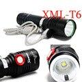 Портативный свет 3800 Люмен usb аккумуляторная фонарик ВОДИТЬ CREE XM-T6 Фонарик Mobile power Lanterna дисплей Мощность Лампы Вспышки Света