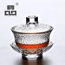 TANGPIN heat-resistant glass gaiwan teapot for puer gaiwan cup of tea цена