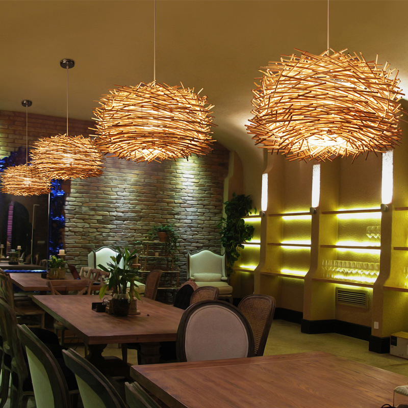 Tuda 34x60cm free shipping rattan wicker chandeliers garden cafe tuda 34x60cm free shipping rattan wicker chandeliers garden cafe bedroom rattan chandelier hand woven rattan pendant e27 in chandeliers from lights aloadofball Image collections