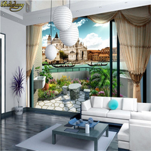 Custom 3d mural wall paper Large mural wallpaper romantic bedroom living room sofa TV background 3d photo wallpaper for the wall цена 2017