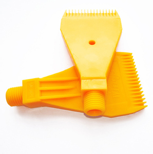 "free shipping ! ! ( 20 pcs/lot ) 1/4"" BSPT Thread size, ABS Material, 727 Flat Wind Jet Air Nozzles"