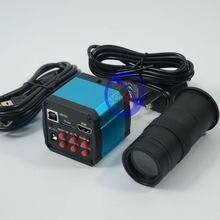 Buy FYSCOPE HD 14MP HDMI 720P USB Digital Industry Video Inspection Microscope Camera Set TF Card Video Recorder + 100X C-MOUNT